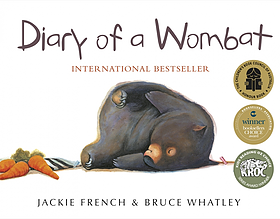diary of a wombat book cover