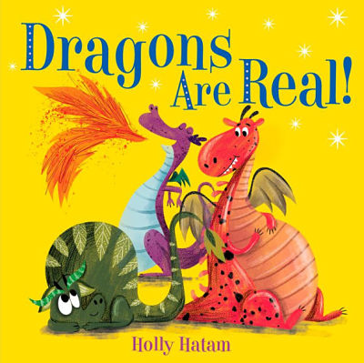 Cover of Dragons are Real by Eva Chen