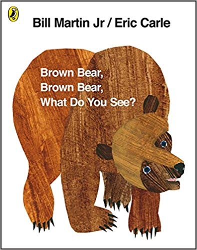 Brown Bear Brown Bear book cover
