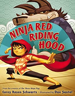Ninja Red Riding Hood book cover